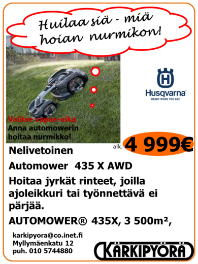 Husqvarna Automower 435 X AWD