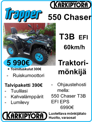 Trapper 550 Chaser T3B